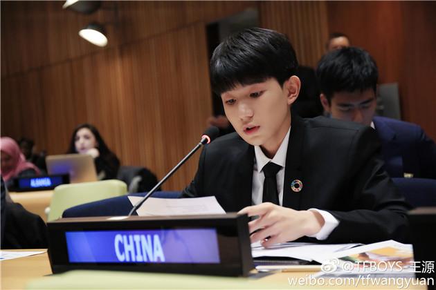 王源联合国演讲