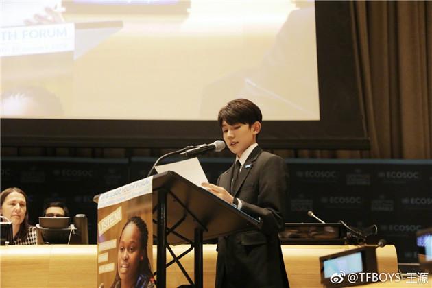 再度登上联合国的舞台
