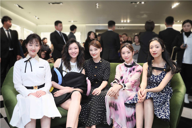 Prada Invites系列庆祝酒会_邓恩熙,齐溪,梅婷,董洁,麦子