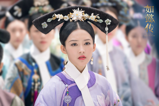 李沁《如懿传》饰演貌美清冷的容妃寒香见