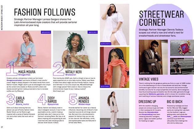 Instagram推出时尚和美妆数字杂志