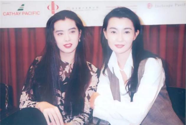 王祖賢和張曼玉舊照