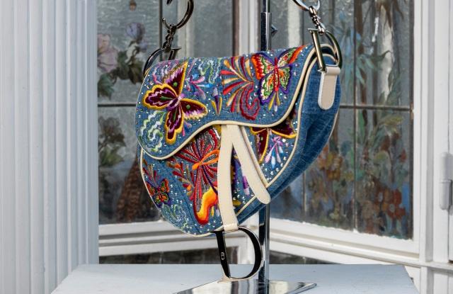 Christian  Dior  2002春夏系列 Saddle  bag