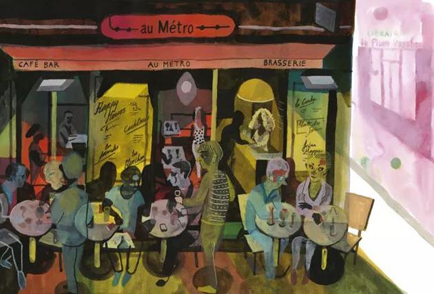 布莱希特·埃文斯作品《在地铁上,兰克利街39号,10区》