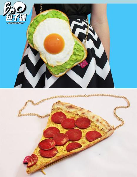 切片和披萨包包