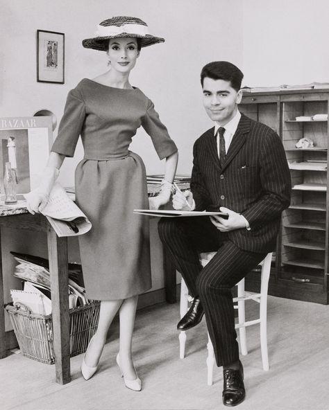 Lagerfeld 在 Jean Patou 巴黎工作室