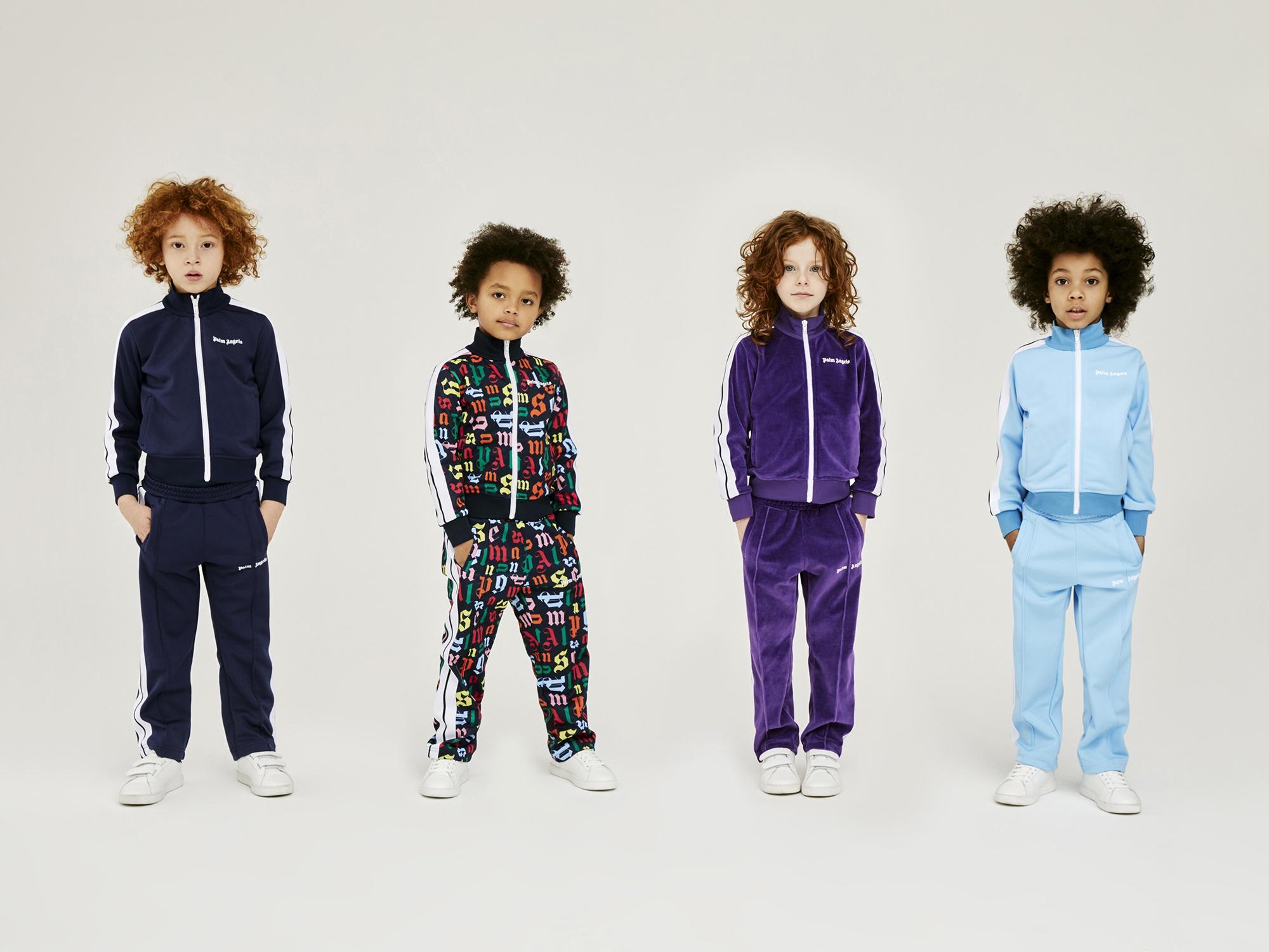 品类琳琅满目 PALM ANGELS 推出首个童装系列