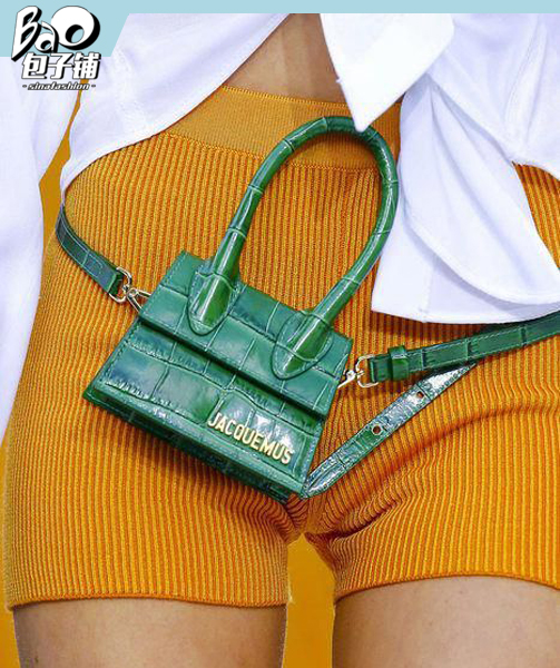 Jacquemus绿色包包