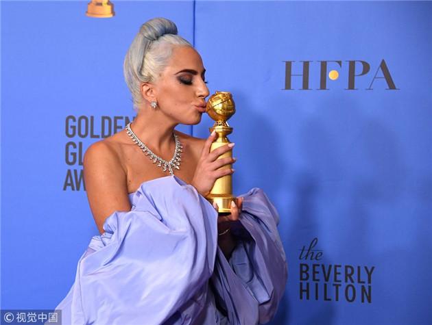 Lady Gaga获奖