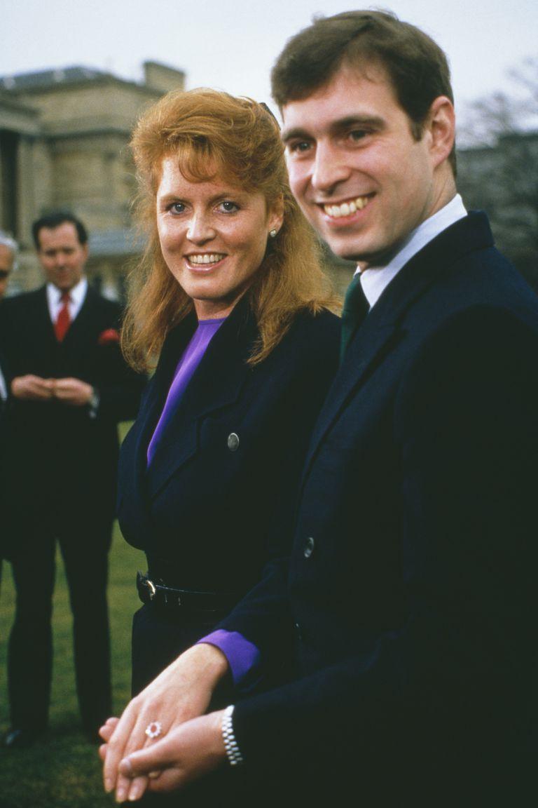 尤金妮公主的父母(Sarah Ferguson和安德鲁王子)