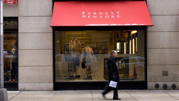 不堪租金压力Barneys百货正式递交破产申请
