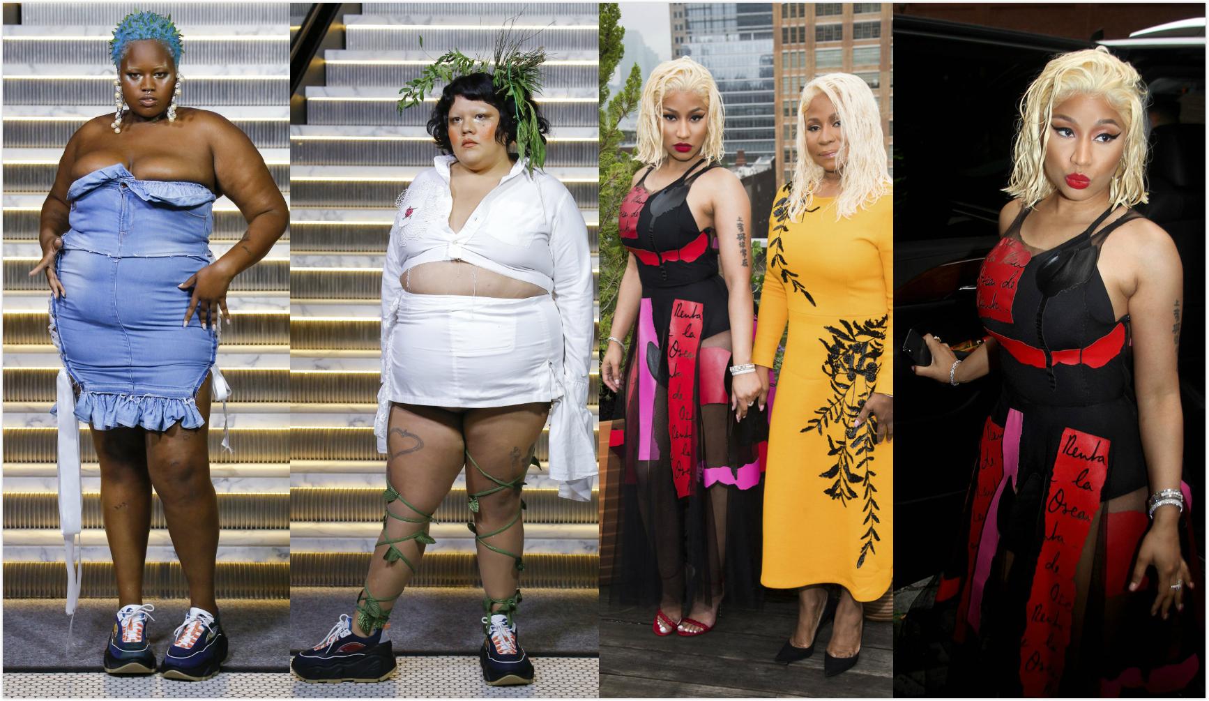 """猜不透的Gypsy Sport春夏系列 右图:来了就不走的纽约""""麻辣鸡""""Nicki Minaj"""
