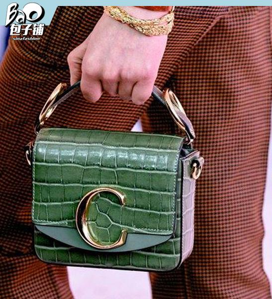 Chloé墨绿色系包包