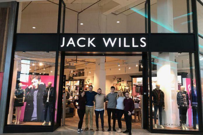 Jack Wills,高街