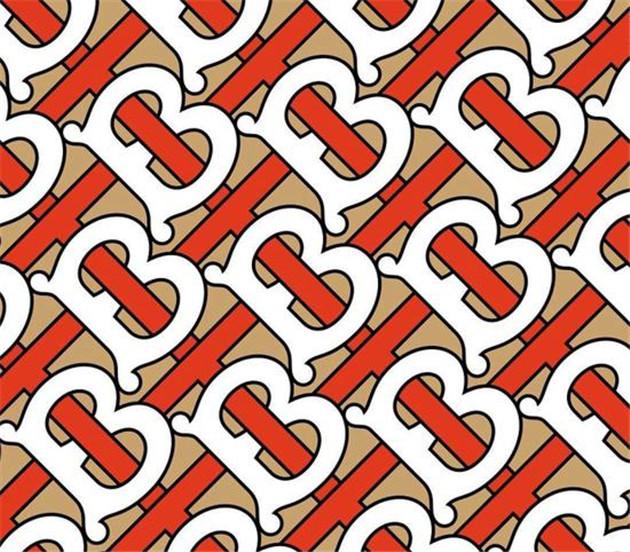 Burberry全新logo和monogram印花