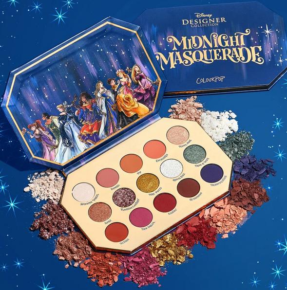 Colourpop x Disney Midnight Masquerade 眼影盘