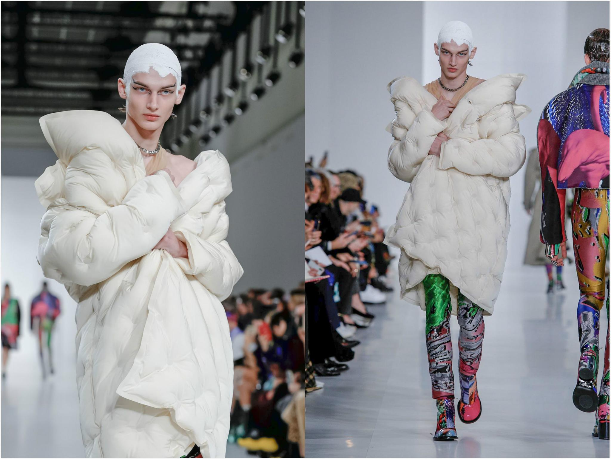2019秋冬巴黎时装周 Maison Margiela 秀场