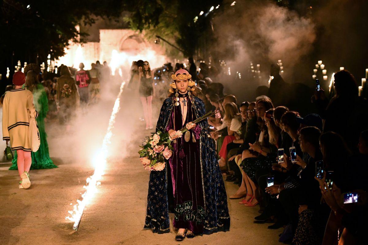 Gucci母公司开云集团宣布 旗下品牌只雇佣18岁以上的模特开云Gucci模特