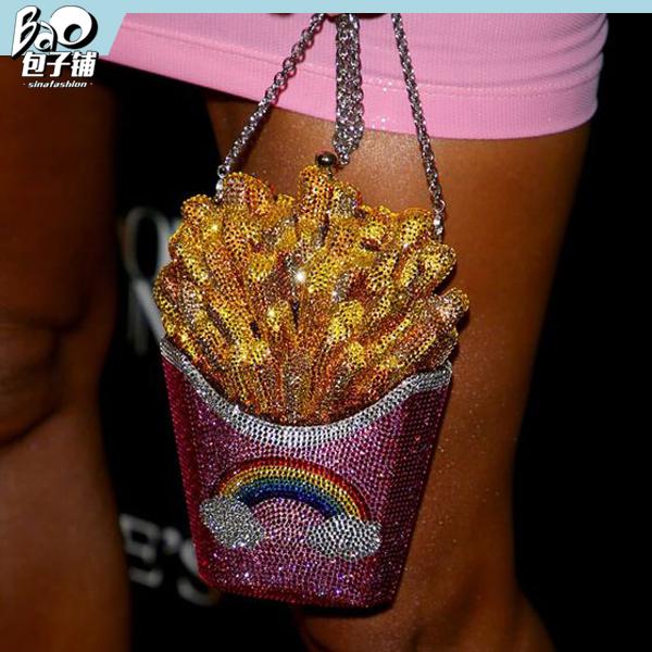 Kim Kardashian的薯条包包