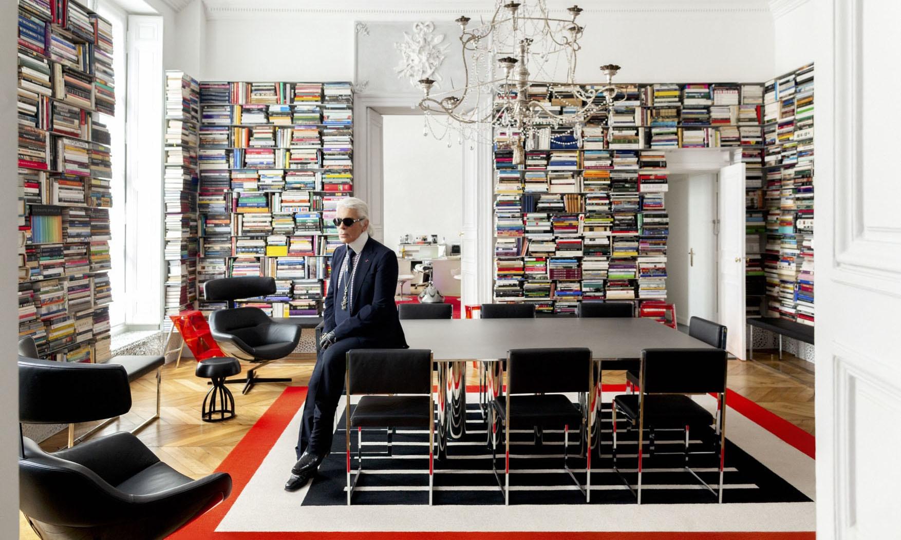 Karl Lagerfeld摩纳哥故居物品将通过苏富比拍卖