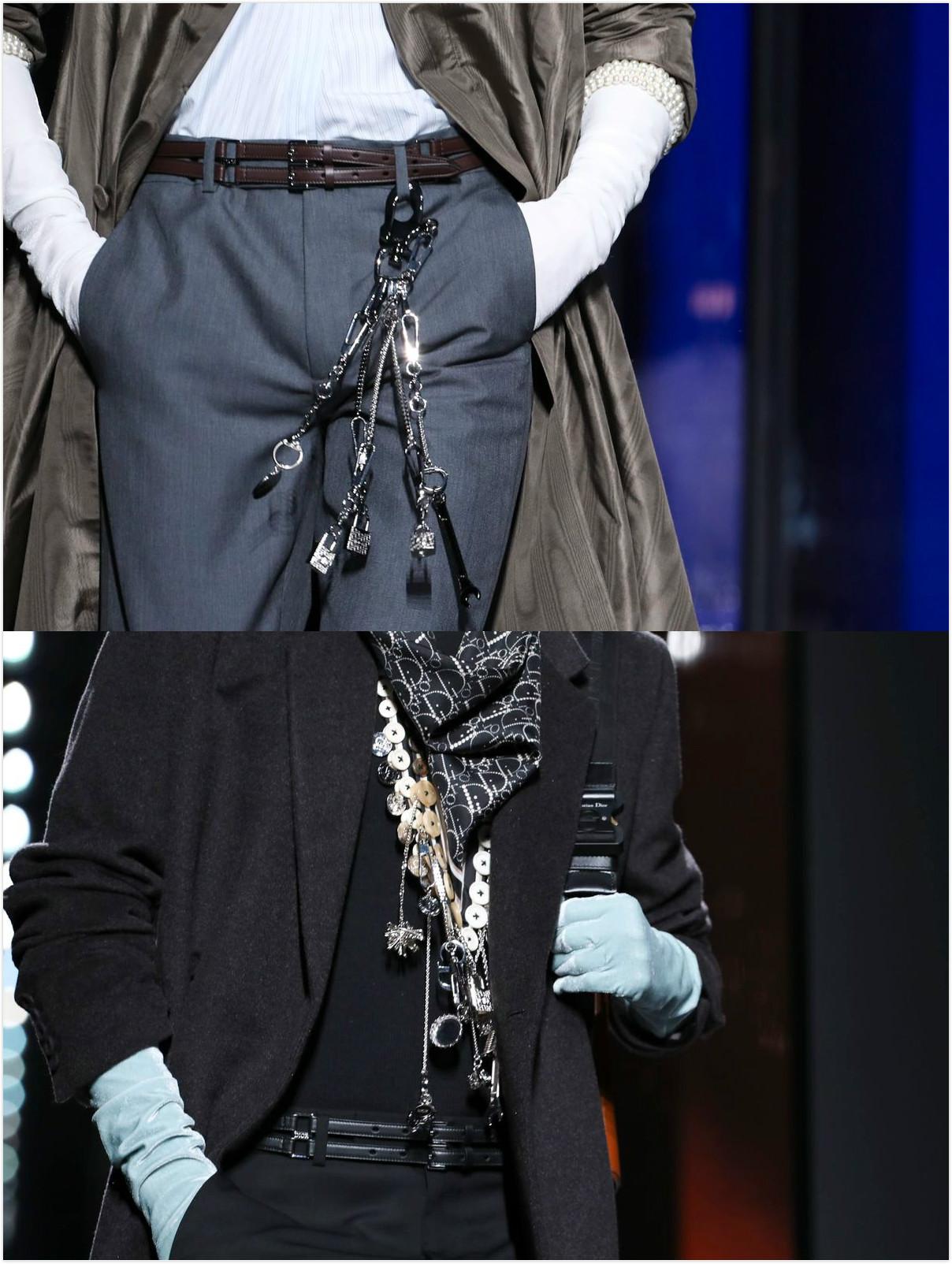 2020秋冬巴黎男装周Dior秀场