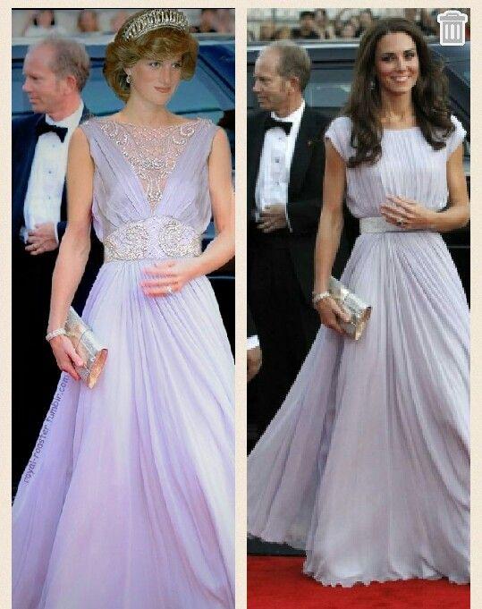 戴安娜王妃和凯特王妃