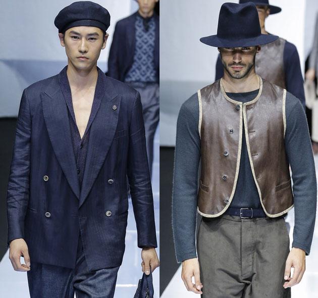 Giorgio-Armani帽子