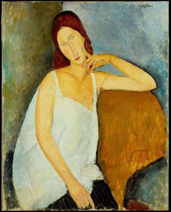 意大利画家莫迪里阿尼作品