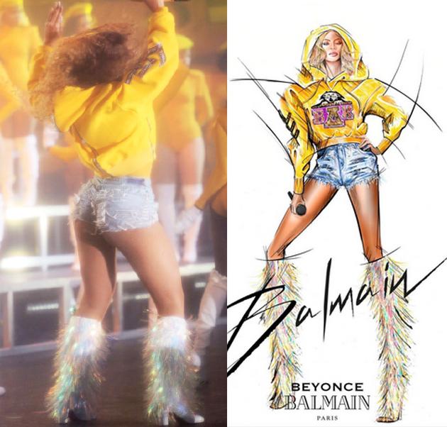 Beyonce为Coachella音乐节开场表演