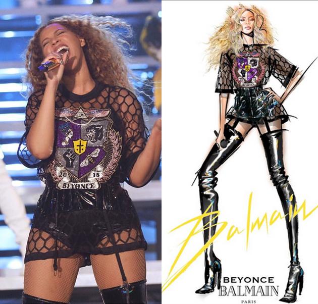 Beyonce為Coachella音樂節開場表演