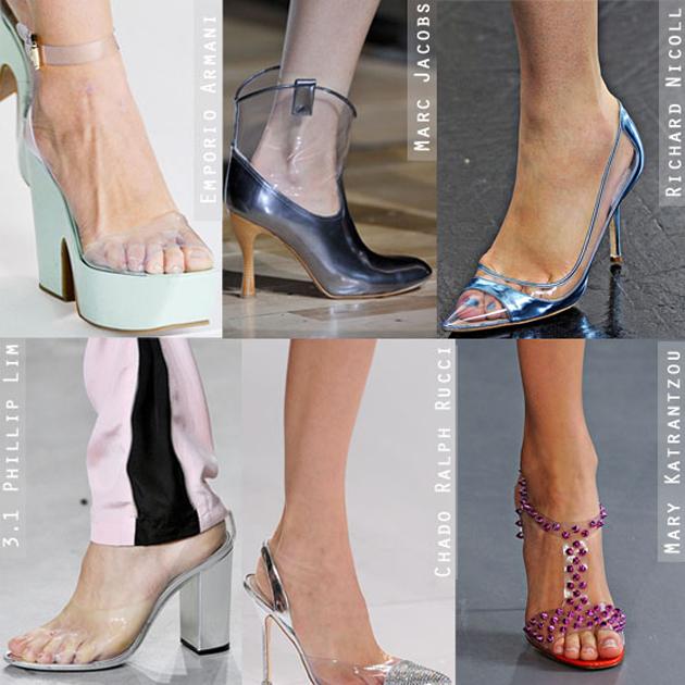 PVC高跟鞋