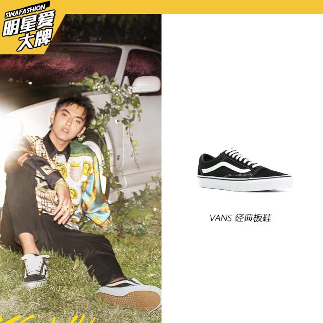 吴亦凡的鞋履