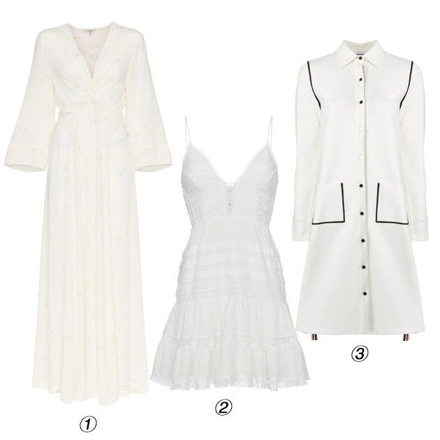 白裙单品推荐