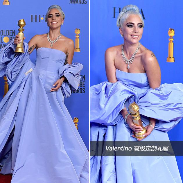Lady Gaga红毯造型