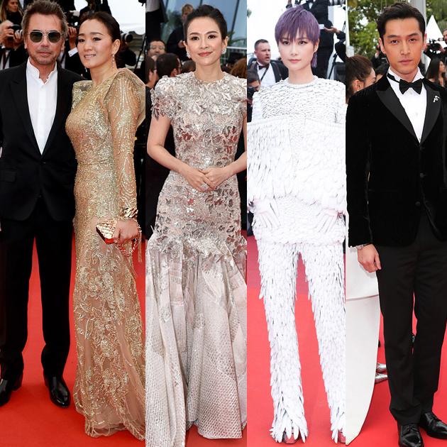 戛纳电影节的中国面孔