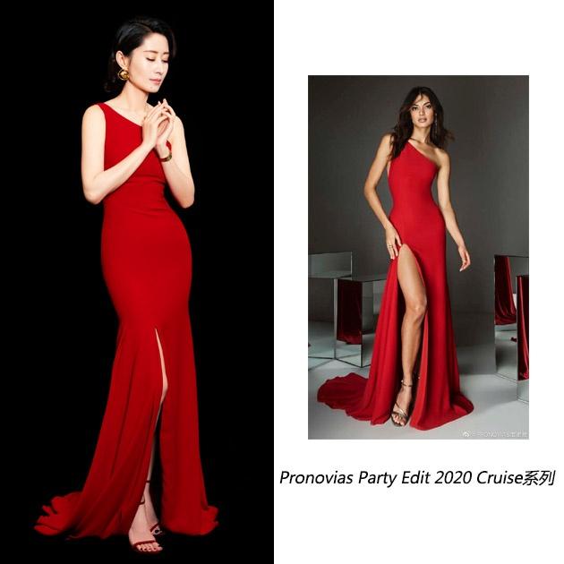 姐姐的紅裙氣場