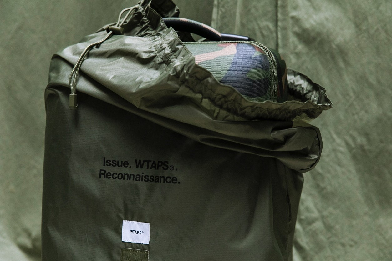 Herschel Supply联手WTAPS Reconnaissance发布胶囊系列Herschel Supply
