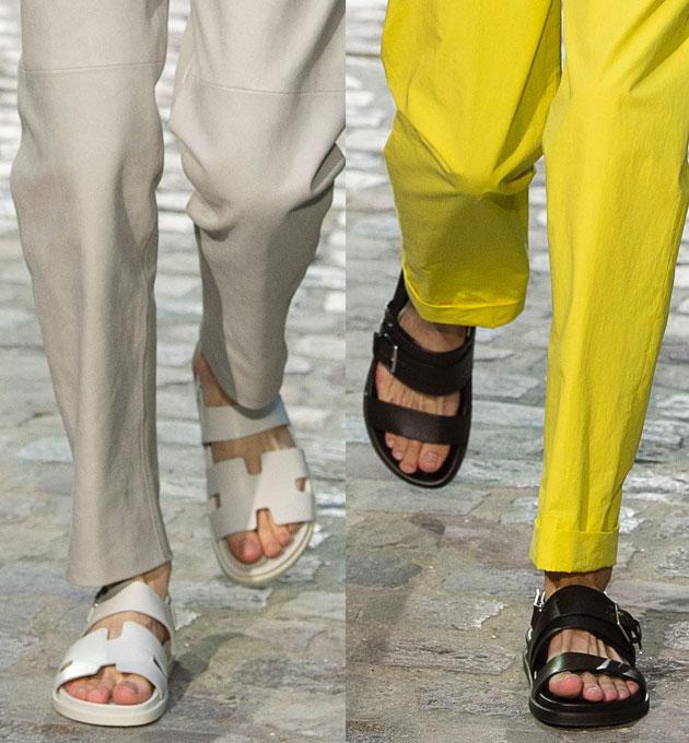Hermes凉鞋