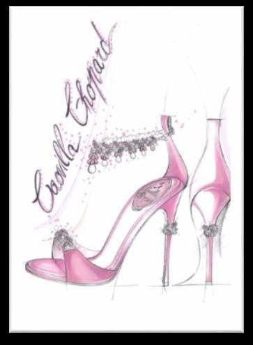 René Caovilla与Chopard合作设计珠宝凉鞋 支持慈善舞会|慈善|凉鞋|René Caovilla