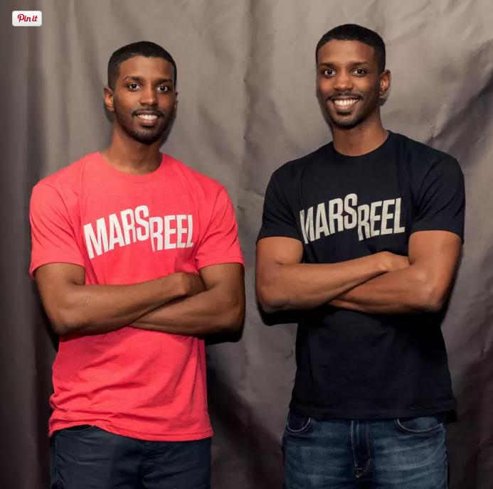 Brandon (Left) and Bradley Deyo founded Mars Reel。