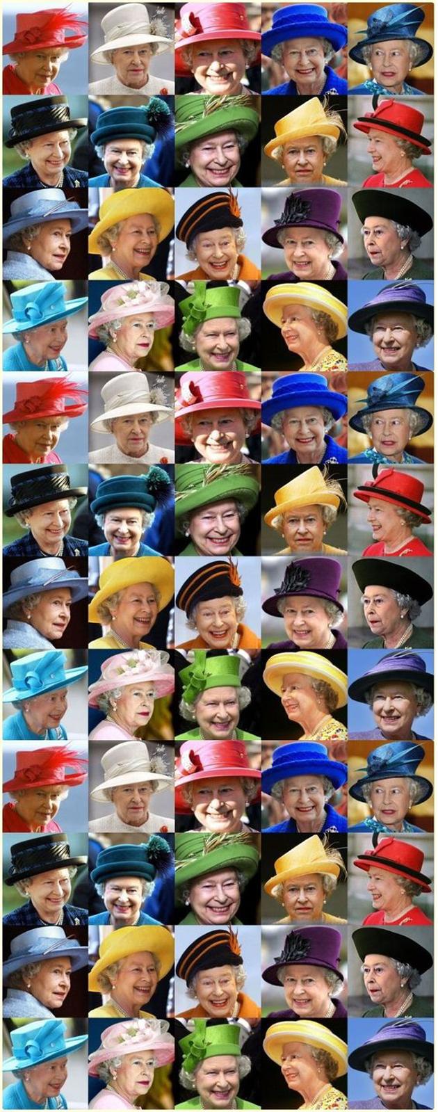 女王的帽子
