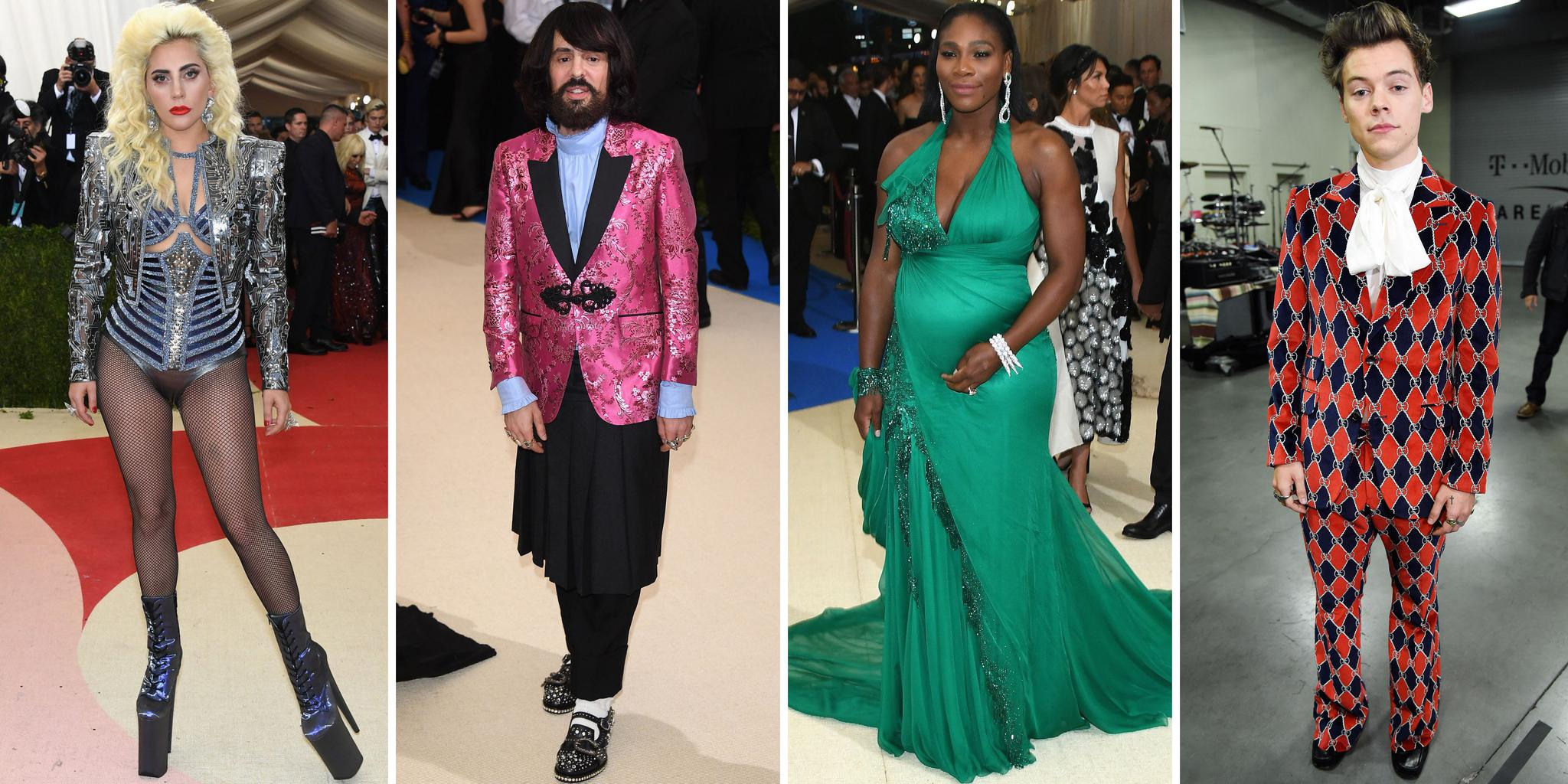 2019 Met Gala 联合主席 Lady Gaga Alessandro Michele Serena Williams and Harry Styles