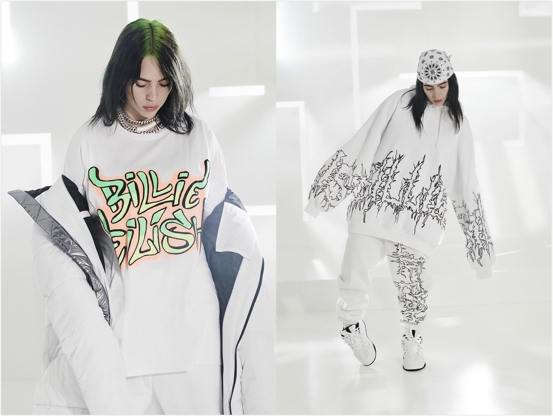Billie Eilish x Bershka 合作胶囊系列