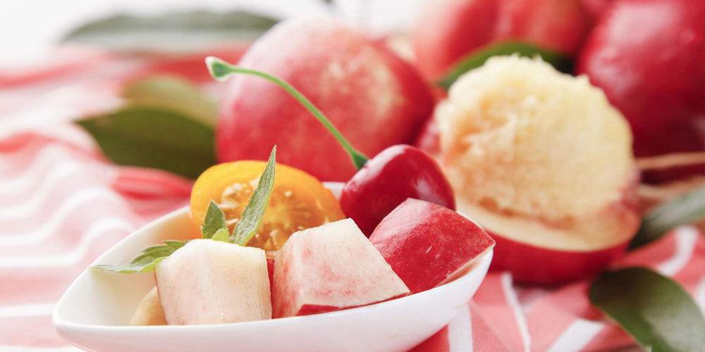 夏天走之前再吃2斤桃子