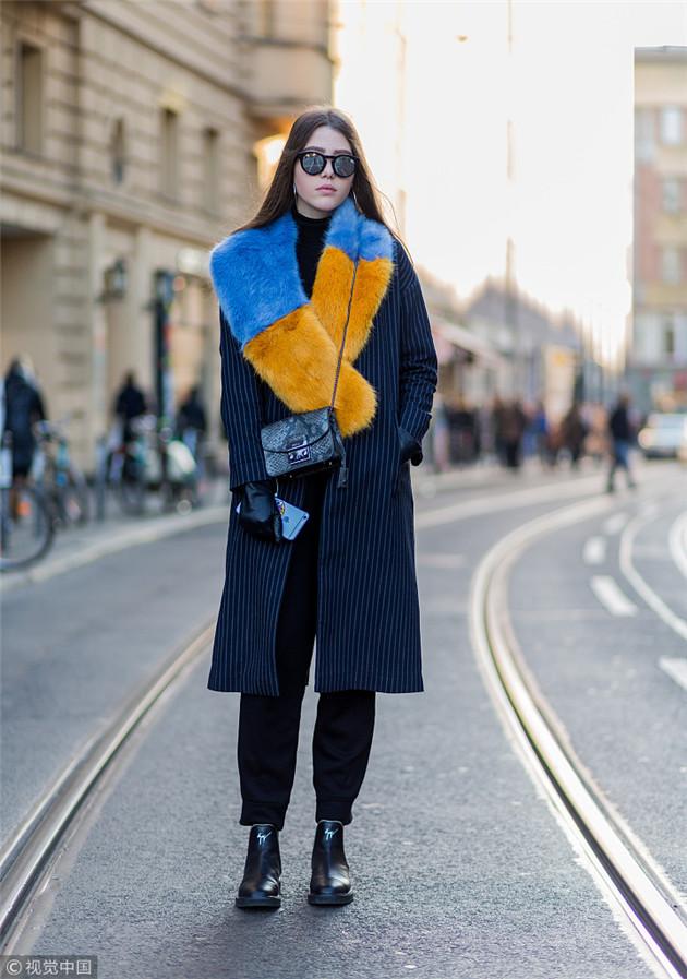 时尚博主Antonia Voicu街拍
