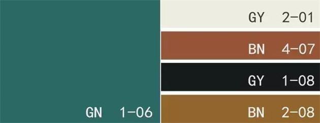 色卡:古典綠+棉花糖色+皮革棕+純黑色+金棕色