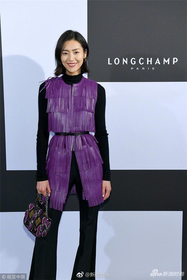 刘雯助阵Longchamp