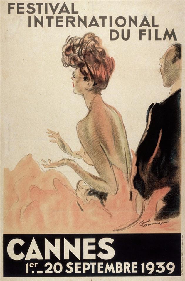 1939年戛纳电影节海报