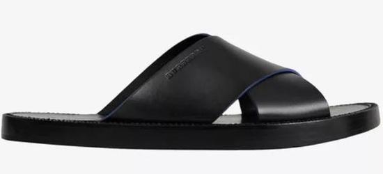 Burberry 拼接细节牛皮凉鞋 ¥4,700