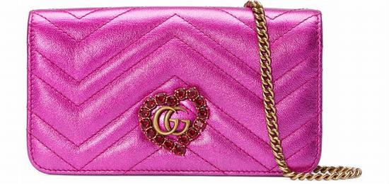 Gucci 情人节限量款肩背包 图片源自品牌